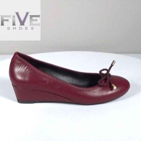 Γυναικεία Γόβα Five Shoes Δέρμα Μπορντώ G1681.B-33.D Ύψος τακουνιού 4cm