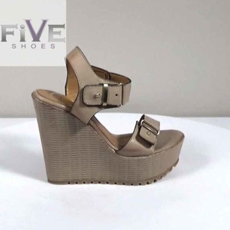 Γυναικεία Πλατφόρμα Five Shoes Δέρμα Πούρο H721.1334.D Ύψος τακουνιού 13cm
