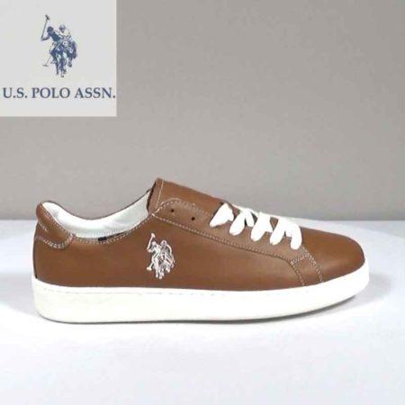 Ανδρικό Παπούτσι Χαμηλό U.S Polo ASSN. Δέρμα Ταμπά H202.NORTON.D