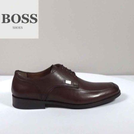 Ανδρικό Παπούτσι Χαμηλό Boss Shoes Δέρμα Καφέ I202.F5104.D