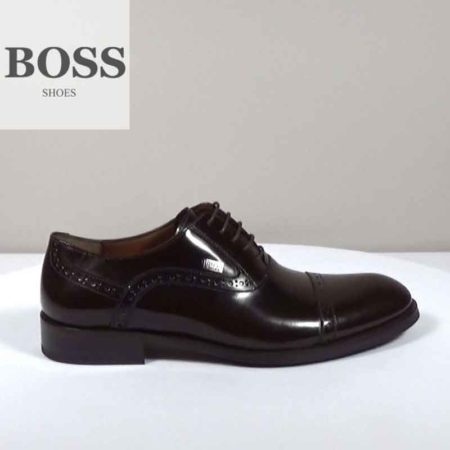 Ανδρικό Παπούτσι Δετό Boss Shoes Φλωρεντίκ Καφέ I202.F5306.F