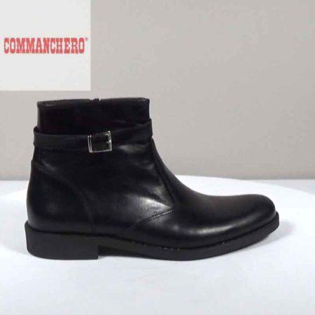 Ανδρικό Μποτάκι Commanchero Δέρμα Μαύρο I1602.91567.D