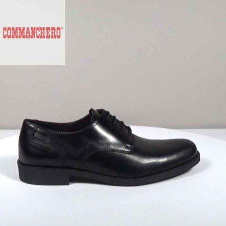Ανδρικό Παπούτσι Δετό Commanchero Δέρμα Μαύρο I1602.91601.D