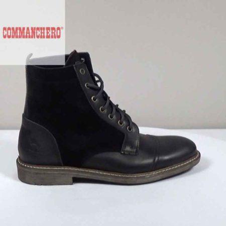 Ανδρικό Μποτάκι Commanchero Δέρμα-καστόρι Μαύρο I1602.71980.DK
