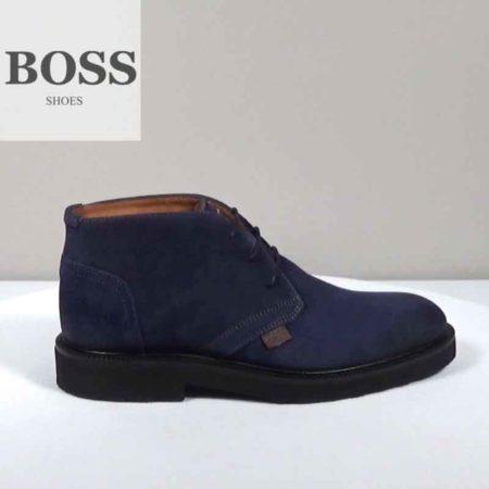 Ανδρικό Ημίμποτο Boss Shoes Καστόρι Μπλε I202.F18191.K