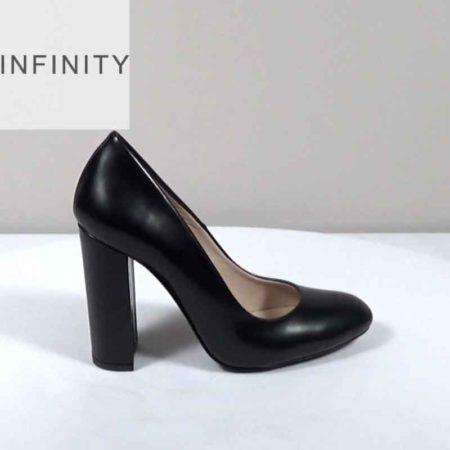 Γυναικεία Γόβα Infinity Δέρμα φλωρεντίκ Μαύρο I1681.100.DF Ύψος τακουνιού 10