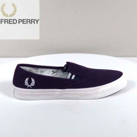 Ανδρικό Slip On Fred Perry Ύφασμα Μπλε H1592.B8253.P