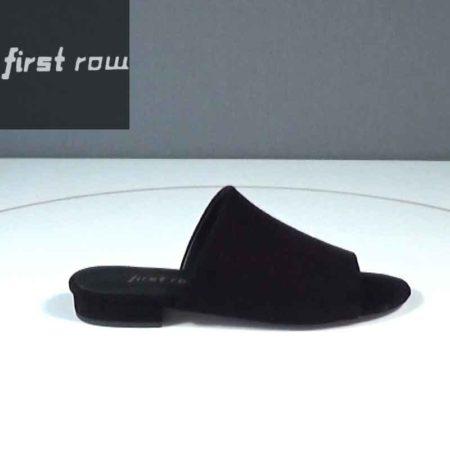 Γυναικεία Mule First Row Καστόρι Μαύρο J1681.1000.K