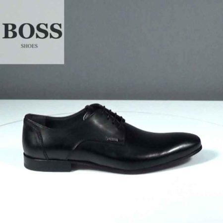 Ανδρικό Παπούτσι Δετό Boss Shoes Δέρμα Μαύρο J202.G4972.D