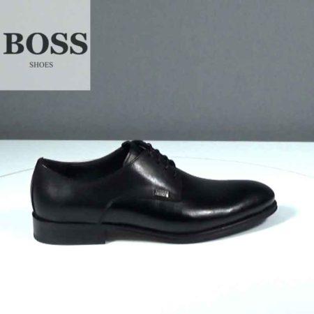 Ανδρικό Παπούτσι Δετό Boss Shoes Δέρμα σταμπωτό-δέρμα Μαύρο J202.G5431GLM.DSTD