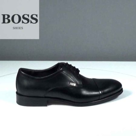 Ανδρικό Παπούτσι Δετό Boss Shoes Δέρμα Μαύρο J202.G5430.D