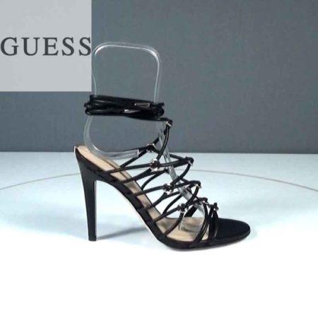 Γυναικείο Πέδιλο Guess Δέρμα συνθ. Μαύρο J841.FLAEY1.DS Ύψος τακουνιού 11
