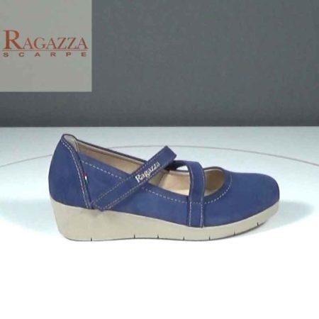 Γυναικείο Παπούτσι Χαμηλό Ragazza Καστόρι Μπλε J241.0286.K Ύψος τακουνιού 4cm