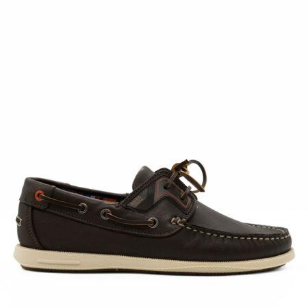 Ανδρικό Παπούτσι Boat Boss Shoes Δέρμα Καφέ R202.Q09130.D
