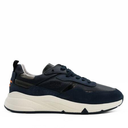 Ανδρικά Sneakers Boss Shoes Nubuck-δέρμα Μπλε R202.QT372.ND