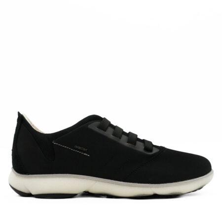 Ανδρικά Sneakers Geox Ύφασμα-καστόρι Μαύρο R1082.NEBULA-C.PK