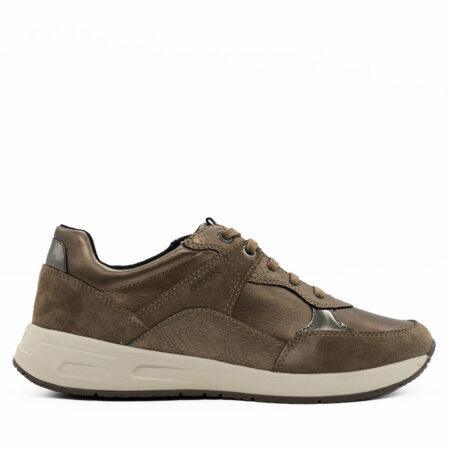 Γυναικεία Sneakers Geox Δέρμα-φίδι-καστόρι Πούρο S1081.BULMYA.DFK