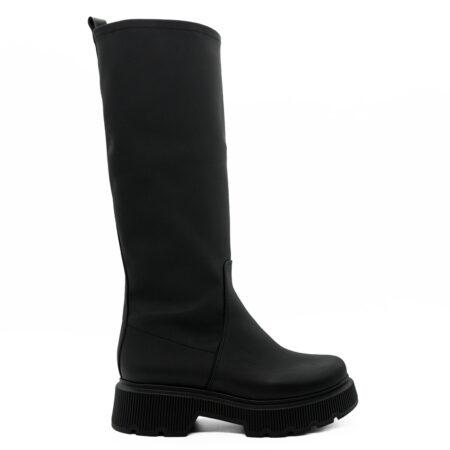 Γυναικεία Μπότα Carad P.v.c Μαύρο S2121.400.PVC Ύψος τακουνιού 6cm