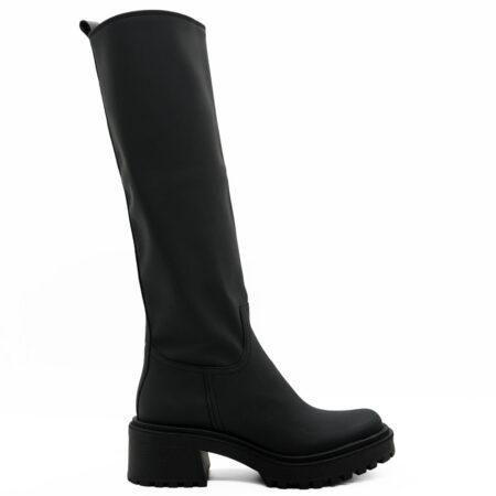 Γυναικεία Μπότα Carad P.v.c Μαύρο S2121.570.PVC Ύψος τακουνιού 6cm